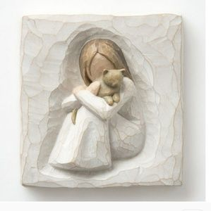 Willow Tree Comfort Plaque